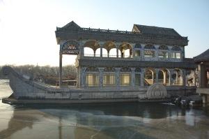 Marble Boat Summer Palace Beijing China