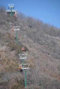 Great Wall of China gondola Beijing